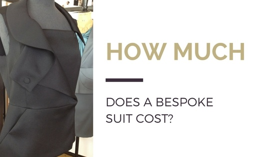 How much does a bespoke suit cost?