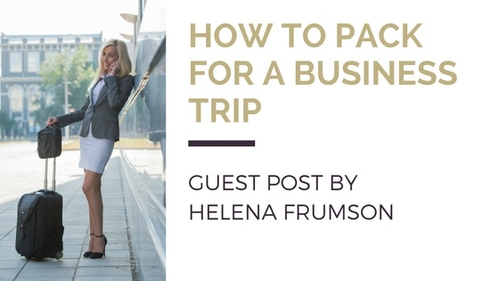 Guest Blog: How to pack for business trips