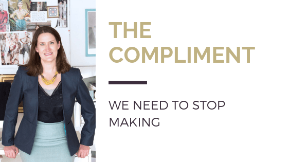 The compliment we need to stop making